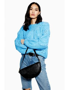 Petal Hand Knitted Jumper by Topshop
