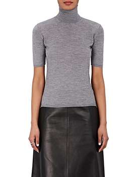 Cashmere Silk Short Sleeve Sweater by Barneys New York