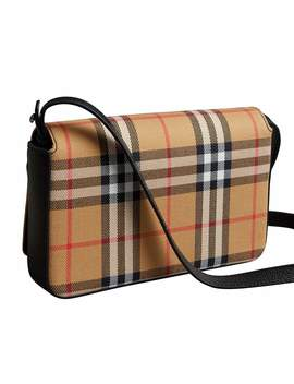 Tartan Mix Hampshire Wallet With Strap by Burberry