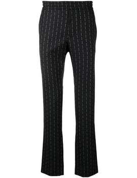 Logo Pinstripe Trousers by 1017 Alyx 9 Sm