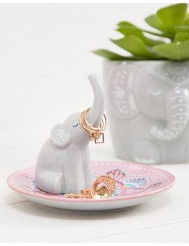 Plato Para Bisutería Con Diseño De Elefante De Sass & Belle by Asos