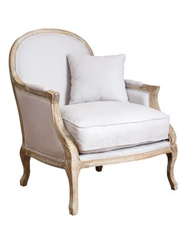 One Allium Way Ludie Weathered Armchair & Reviews by One Allium Way