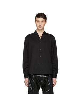 Black Wool Shirt by Sasquatchfabrix.
