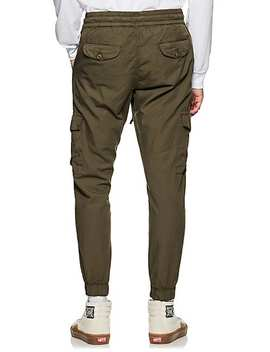 Cotton Canvas Cargo Jogger Pants by Nsf