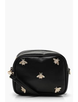 All Over Metal Bug Cross Body by Boohoo