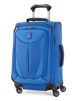 "Closeout! Walkabout 3 21"" Expandable Carry On Spinner Suitcase, Created For Macy's by Travelpro"