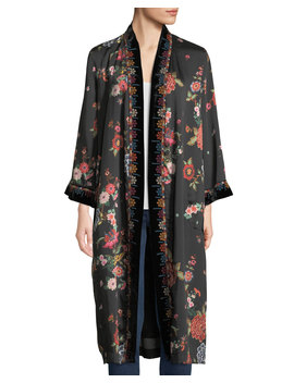 mix-floral-print-velvet-kimono-jacket,-plus-size by johnny-was