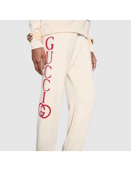 Jogging Pant With Gucci Logo by Gucci