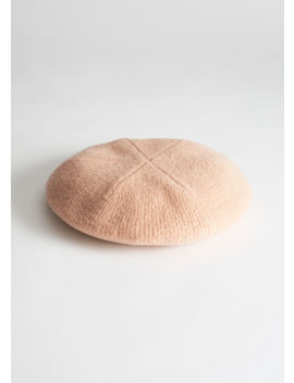 Ribbed Wool Beret by & Other Stories