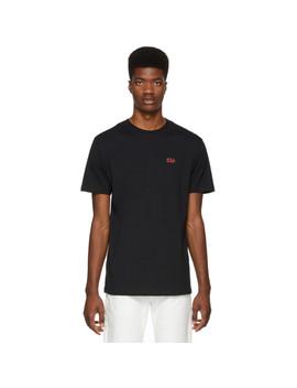 Black 'resist' T Shirt by 032 C