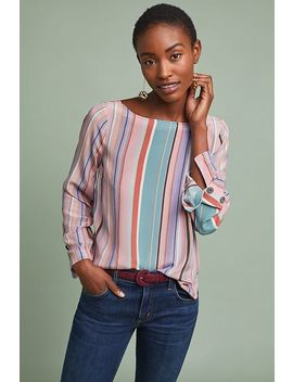 Florence Silk Top by Maeve