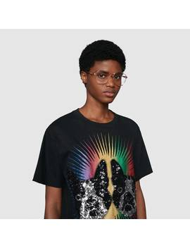 Oversize T Shirt With Bosco And Orso by Gucci