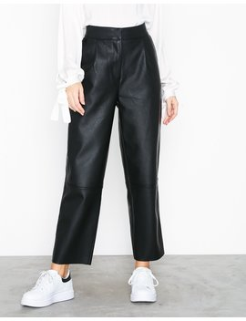 Straight Pu Pants by Nly Trend