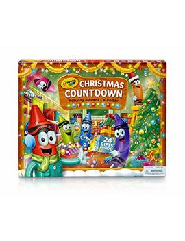 Crayola 04 6808 U 000 Christmas Advent Calendar Kit by Crayola
