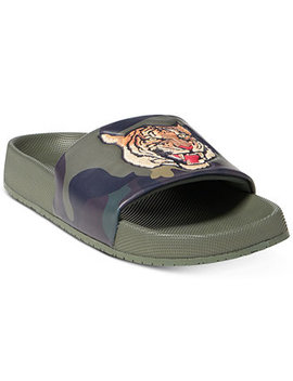 Men's Cayson Sport Slide Sandals by Polo Ralph Lauren