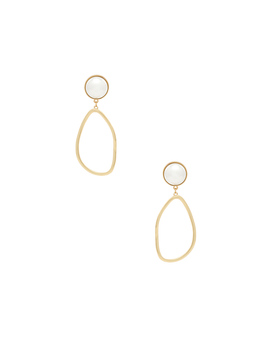 Pearl Drop Earrings by Ettika