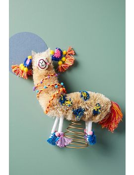 Crazy Llama Tree Topper by Anthropologie