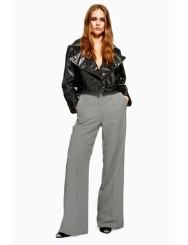 Houndstooth Trousers by Topshop