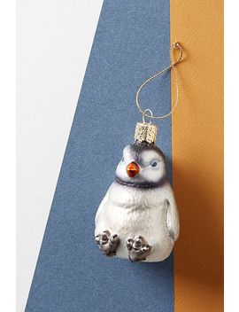Seated Penguin Ornament by Anthropologie
