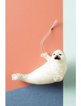 Seal Ornament by Anthropologie