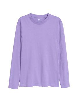 Блуза с дълъг ръкав Loose Fit by H&M