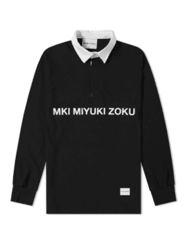 Mki Logo Rugby Shirt by End.