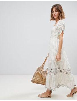 Rahi Ventura Cotton Dobby Midi Dress by Rahi Cali
