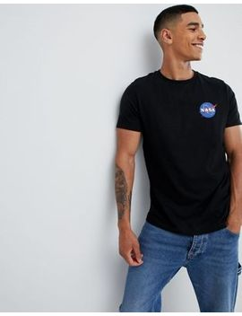 Asos Nasa T Shirt With Chest Print by Asos Design