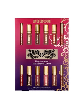Buxom Party All Night 12 Piece Lip Kit by Buxom