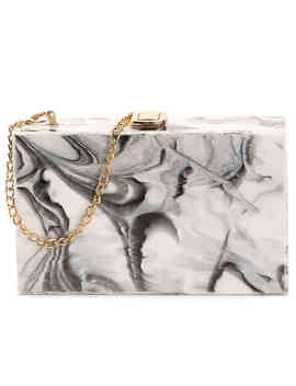 Marble Box Clutch by Madison West