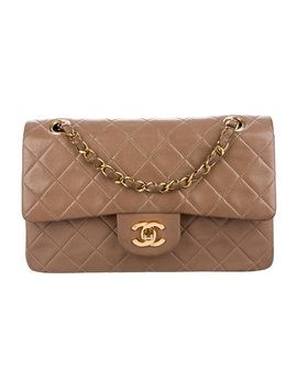 Vintage Classic Small Double Flap Bag by Chanel