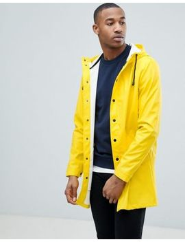 Asos Design   Trench Imperméable   Jaune by Asos Design