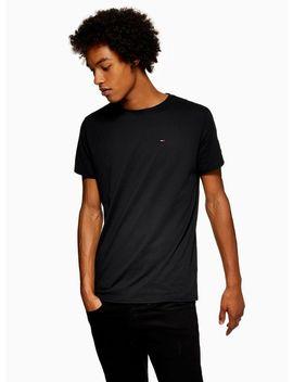 Tommy Jeans Black Original Jersey T Shirt by Topman