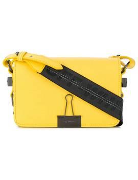 Foldover Clip Shoulder Bag by Off White