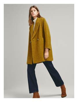 Classic Coat by Massimo Dutti