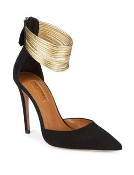 Hello Lover Point Toe Heels by Aquazzura