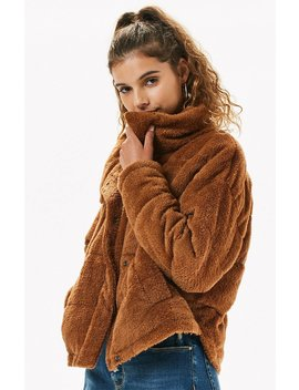 Kendall & Kylie Teddy Puffer Jacket by Pacsun