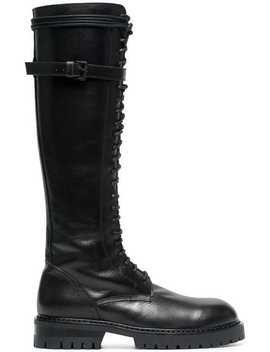 50 Leather Knee High Boots by Ann Demeulemeester