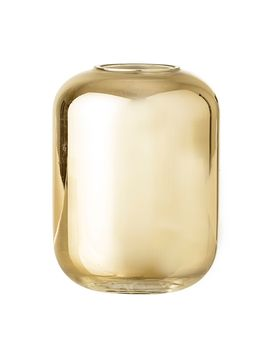 Gold Glass Vase by Bloomingville