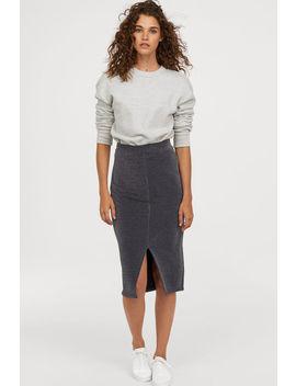 Glittery Jersey Skirt by H&M