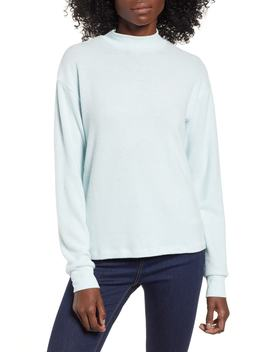 Cozy Mock Neck Pullover by Socialite