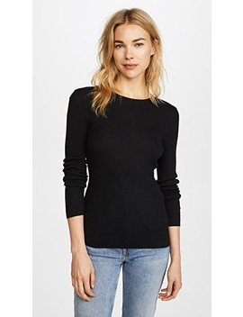 Crew Neck Cashmere Sweater by Tse Cashmere