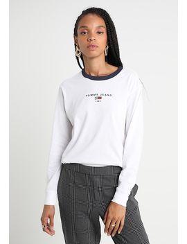 Ringer Longsleeve   Langærmede T Shirts by Tommy Jeans