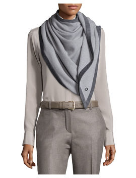 Dressing Demicarre Duo Shawl by Loro Piana