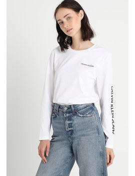 Institutional Relax Long Sleeve   Langærmede T Shirts by Calvin Klein Jeans