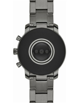 Gen 4 Explorist Hr Smartwatch 45mm Stainless Steel   Smoke by Fossil