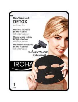 Iroha Black Tissue Detox Facial Mask   Charcoal by Iroha Nature