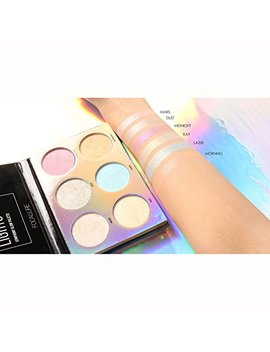 3 Color Makeup Unicorn Luminous Shimmer Glow Kit Highlighter Powder Palette (Heat Makeup Palette) by Inspired Capital L
