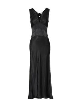 Satin Maxi Dress by Alexa Chung