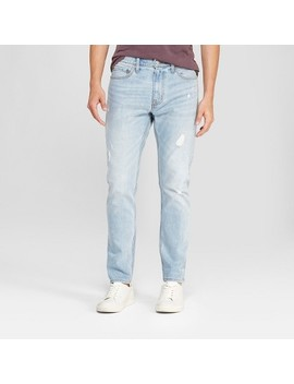 Men's Taper Fit Jeans   Goodfellow & Co™ Light Wash by Goodfellow & Co™